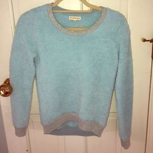 Tucker + Tate blue fluffy sweater/ sweatshirt